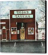 Toby's Canvas Print by Perry Woodfin