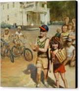 Tomboy Canvas Print by Heather Burton
