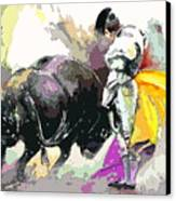 Toroscape 39 Canvas Print by Miki De Goodaboom