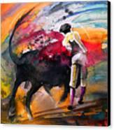 Toroscape 53 Canvas Print by Miki De Goodaboom