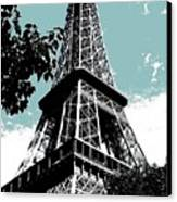 Tour Eiffel Canvas Print by Juergen Weiss