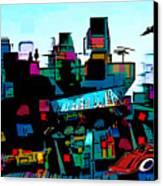 Toyland Canvas Print by Sabine Stetson