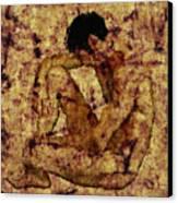 Transition Canvas Print by Kurt Van Wagner