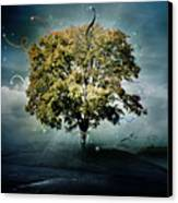 Tree Of Hope Canvas Print by Mary Hood