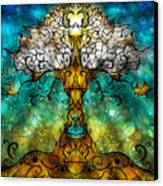 Tree Of Life Canvas Print by Mandie Manzano