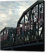 Trenton Makes.... Canvas Print by D R TeesT