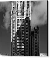 Tribune Tower 435 North Michigan Avenue Chicago Canvas Print by Christine Till