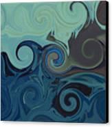 Trippy Canvas Print by Melanie Plummer