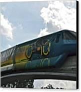 Tron Tram Canvas Print by Carol  Bradley