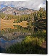 Trout Lake, Yellowstone National Park Canvas Print by DBushue Photography