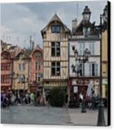 Troyes France Canvas Print by Marilyn Dunlap