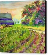 Troy's Memories Canvas Print by Kathy Braud