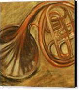 Trumpet Canvas Print by Rashmi Rao