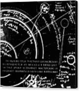 Tsiolkovsky's Works On Space Conquest Canvas Print by Ria Novosti