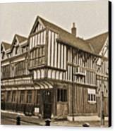 Tudor House Southampton Canvas Print by Terri Waters