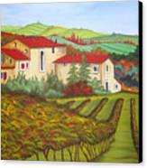 Tuscany Canvas Print by Amanda Schambon