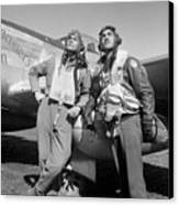 Tuskegee Airmen Canvas Print by War Is Hell Store
