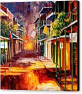 Twilight In New Orleans Canvas Print by Diane Millsap