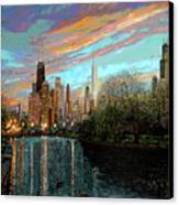 Twilight Serenity II Canvas Print by Doug Kreuger
