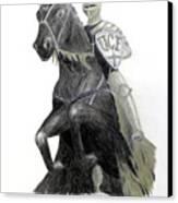 Ucf Knights Canvas Print by Frederic Kohli