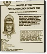 Unabomber Wanted Poster