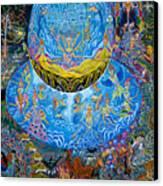 Unai Shipash  Canvas Print by Pablo Amaringo