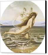 Under The Sea Canvas Print by Joseph Noel Paton