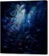 Under The Sea Canvas Print by Rachel Christine Nowicki
