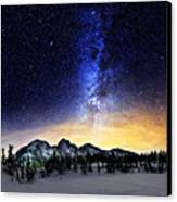 Under The Stars Canvas Print by Alexis Birkill