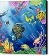 Undersea Garden Canvas Print by Gale Cochran-Smith