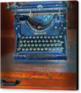 Underwood Typewriter Canvas Print by Dave Mills