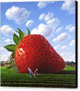 Unexpected Growth Canvas Print by Jerry LoFaro