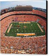 University Of Tennessee Neyland Stadium Canvas Print by University of Tennessee Athletics