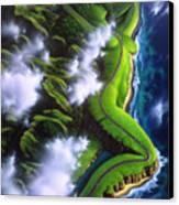 Unveiled Canvas Print by Jerry LoFaro