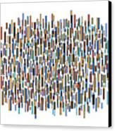 Urban Abstract Canvas Print by Frank Tschakert