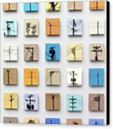 Urban Sentinels Canvas Print by Jason Messinger