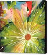 Urban Sunburst Canvas Print by Andrew Gillette