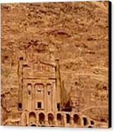 Urn Tomb, Petra Canvas Print by Cute Kitten Images