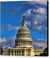 Us Capital  Canvas Print by Brian Governale