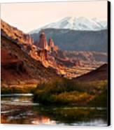 Utah Colorado River Canvas Print by Marilyn Hunt