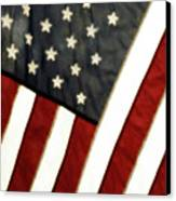 Variations On Old Glory No.4 Canvas Print by John Pagliuca