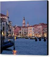 Venice Blue Hour 2 Canvas Print by Heiko Koehrer-Wagner