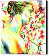 Venus De Milo Canvas Print by Christy  Freeman