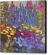 Vic Park Garden Canvas Print by Carol Hama Chang
