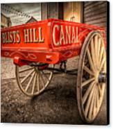 Victorian Cart Canvas Print by Adrian Evans