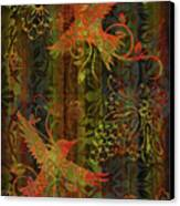 Victorian Humming Bird 3 Canvas Print by JQ Licensing