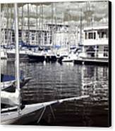 View From The Bow Canvas Print by John Rizzuto