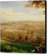 View Of Bradford Canvas Print by William Cowen