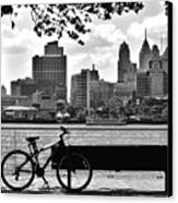 View Of Philadelphia  Canvas Print by Andrew Dinh