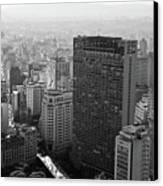 View Of Sao Paulo Canvas Print by Jacobo Zanella